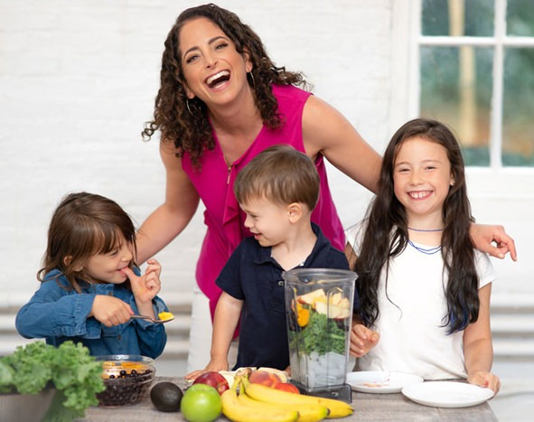 sue levy - savory living founder healthy eating expert